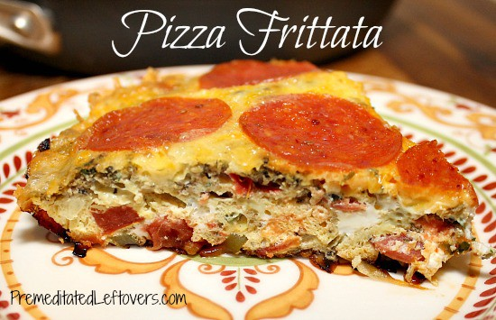 Pizza Frittata Recipe - fast and easy kid-friendly dinner