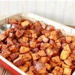 Pumpkin Pie Spiced Sweet Potatoes