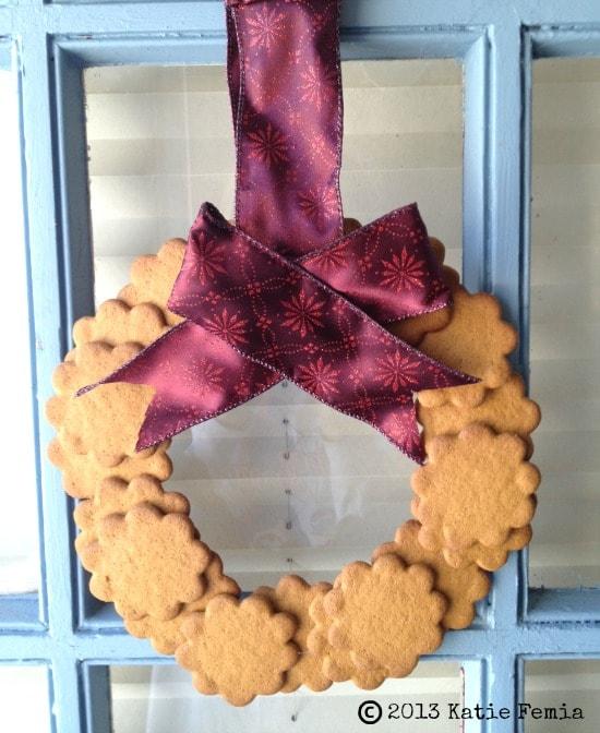 Easy Homemade Cookie Wreath