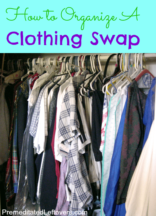 How to organize a clothing swap