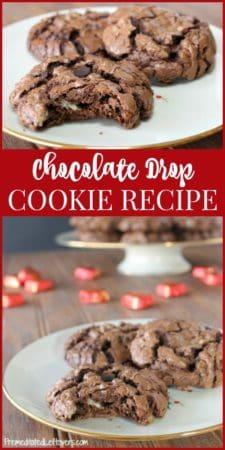 homemade Chocolate drop cookies recipe