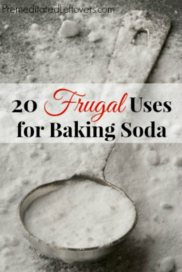 Use these 20 frugal uses for baking soda around the home. Thrifty and eco-friendly household hacks for using baking soda around your home instead of store-bought cleaners