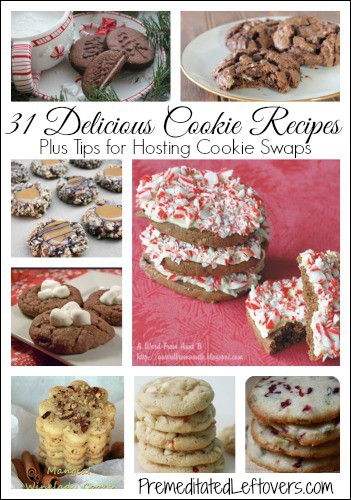 31 Delicious Cookie Recipes with tips for hosting a cookie exchange
