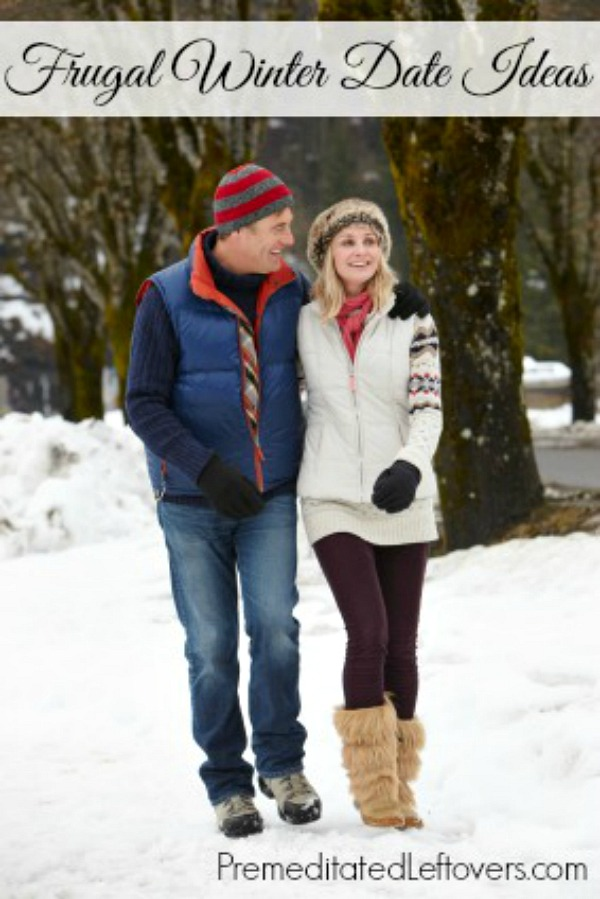 Frugal Winter Date Ideas- Don't pass up date night just because you're on a budget! Here are 5 inexpensive date ideas that you can enjoy this winter.