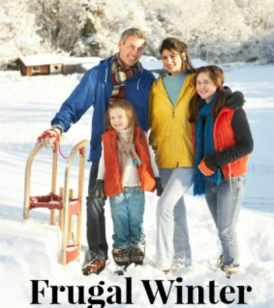 Frugal Winter Family Fun- Enjoy winter with your family with these fun and frugal activities. They are perfect for spending time together over winter break.