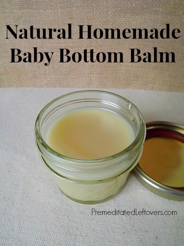Natural Homemade Baby Bottom Balm