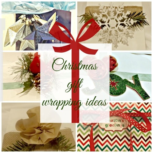 5 Different Christmas Gift Wrap Ideas