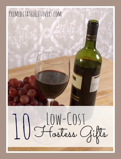 10 low cost hostess gift ideas