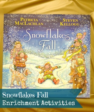 Snowflakes Fall - enrichment activities to accompany the book