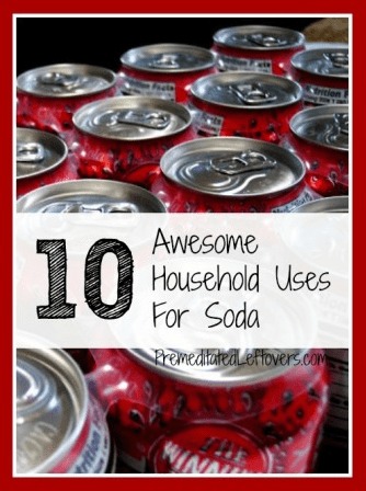 uses for pop around the house