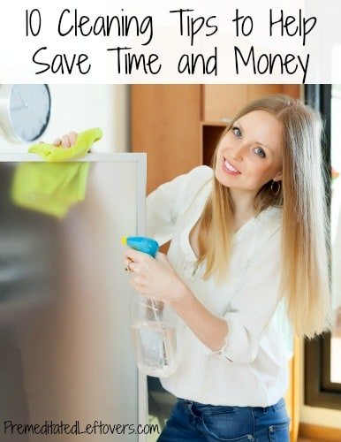 10 Cleaning Tips to Help Save Time and Money