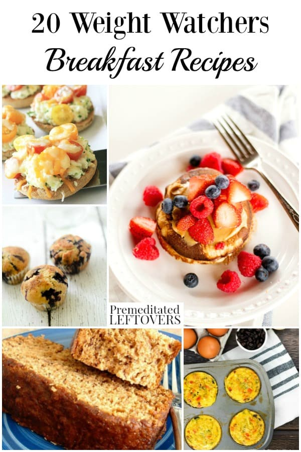 Weight watchers breakfast recipes with freestyle points