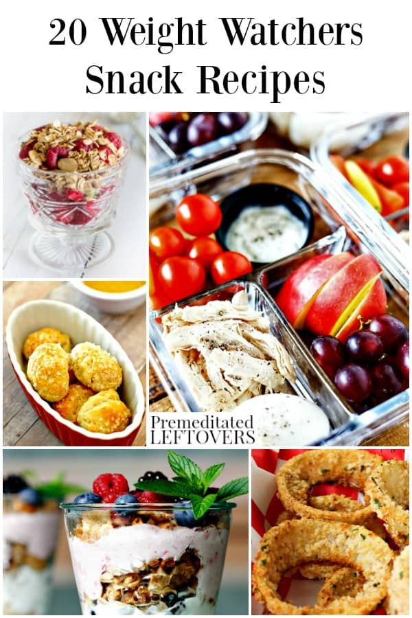 Weight Watchers Snack Recipes