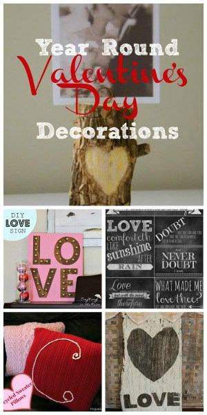 5 Valentine's Decorations to Last All Year