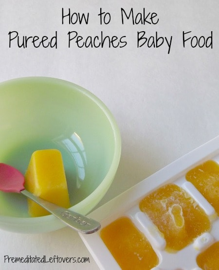 How To Make Homemade Baby Food With Fresh Fruits