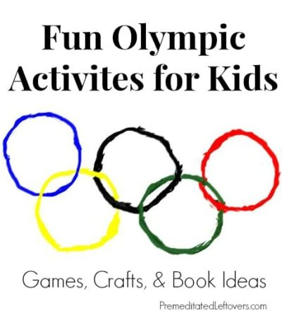 Winter Olympic Activities for Kids