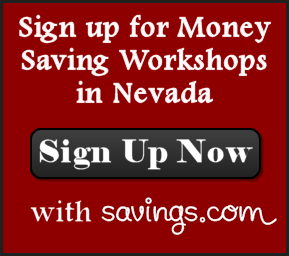 Grocery Savings Workshops including Couponing and Meal Planning in Reno, Sparks, and Tahoe