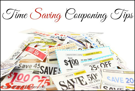 time-saving couponing tips