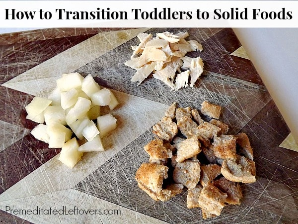 Tips for Transitioning Toddlers to Solid Foods