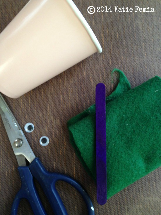 Groundhog Puppet: Groundhog's Day Craft for Kids materials