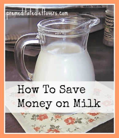 save on milk