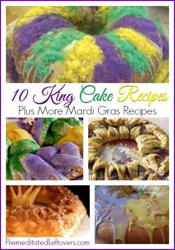 10 King Cake Recipes + more Mardi Gras Recipes