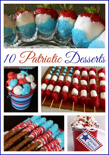 10 Patriotic Dessert & Snack Recipes