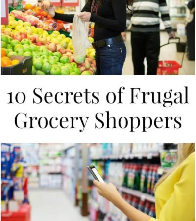 10 Secrets of Frugal Grocery Shoppers
