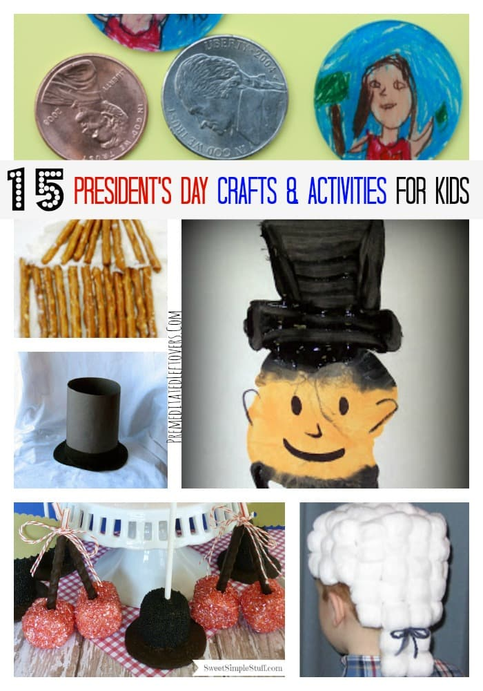 15 President S Day Crafts And Activities For Kids