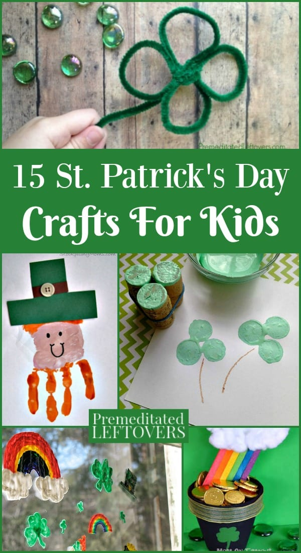 Need a fun St. Patrick's Day activity? These St. Patrick's Day crafts for kids include everything from leprechaun traps to charm bracelets.