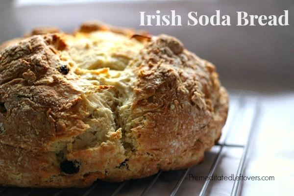 Irish Soda Bread - perfect for St. Patrick's Day celebrations