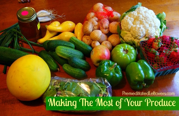 Make The Most of Your Fresh Produce