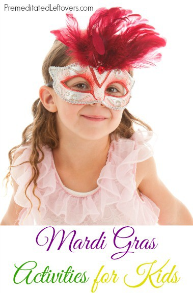 Mardi Gras Activities for Kids - fun family friendly Mardi Gras games