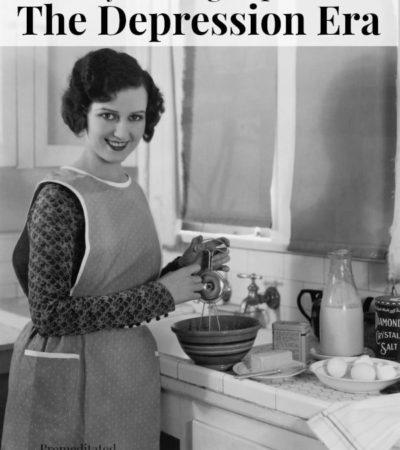 Money Saving Tips from the Depression Era