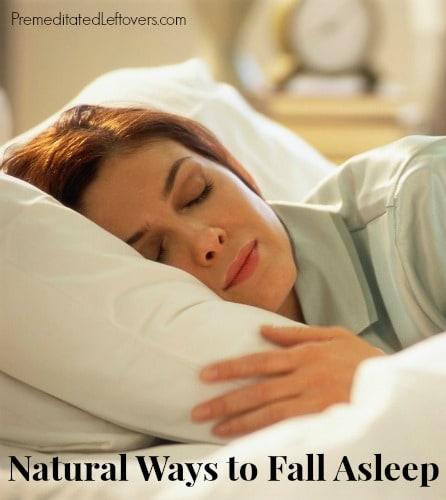 Natural Ways to Fall Asleep