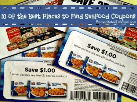 10 Places to Find Coupons for Seafood
