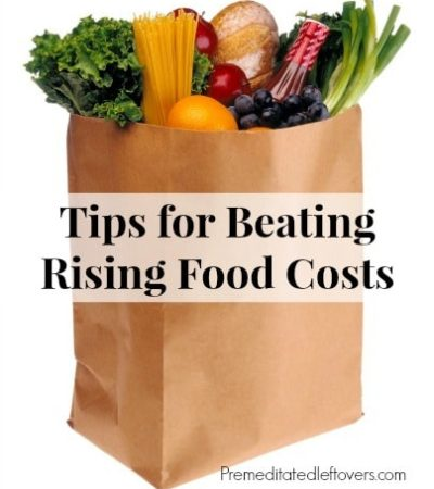 Tips for Beating Rising Food Costs