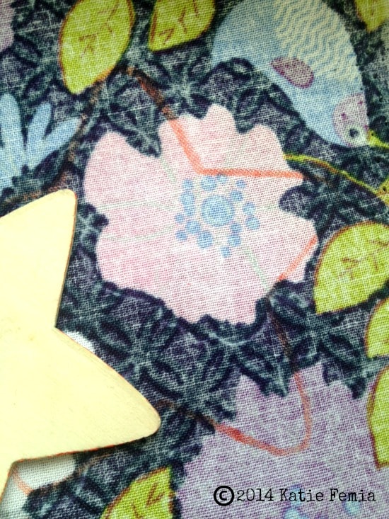How to make Scrap Fabric Magnets