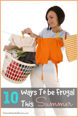 10 Ways to be frugal this summer