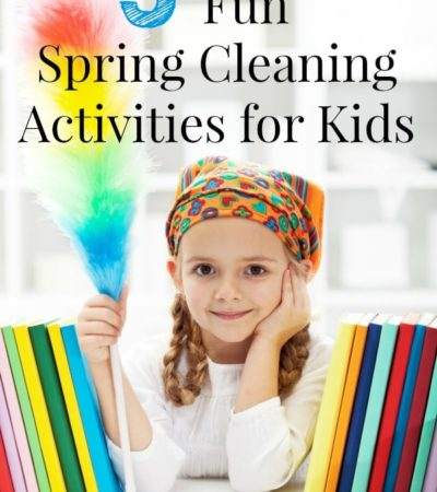 5 Fun Spring Cleaning Ideas that Kids Will Enjoy including spring cleaning games, spring cleaning activities and fun ways to clean.