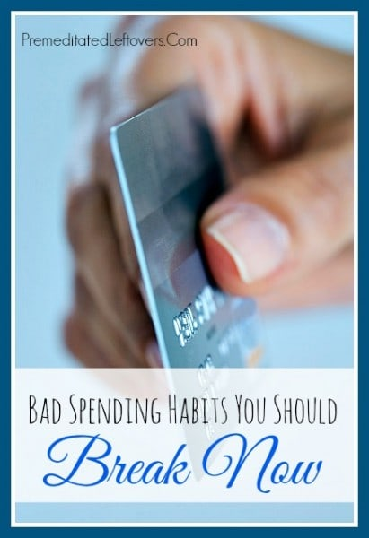 Bad Spending Habits you should break
