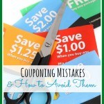 Couponing Mistakes and how to avoid them
