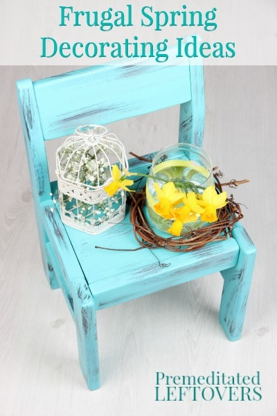 Frugal Spring Decorating Ideas