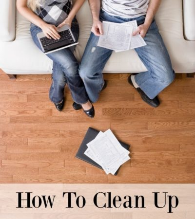 How To Clean Up Your Finances for Spring - Tips for organizing your finances, evaluating your budget, and making changes if necessary.