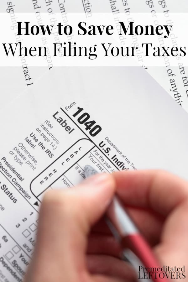 How to Save Money when Filing Your Taxes - These tips will help you save money on tax preparations services this tax season.