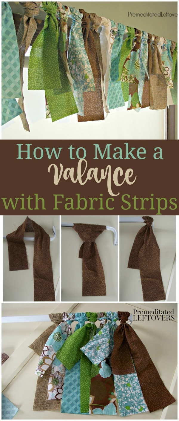 How To Make Dining Room Decorating Ideas To Get Your Home: How To Make A Fabric Strip Valance