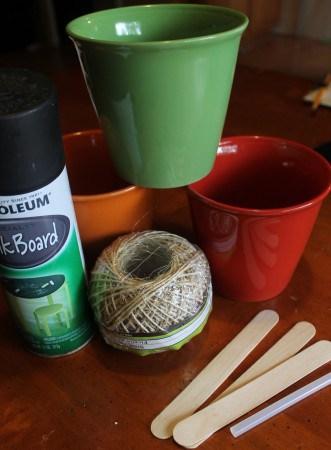 herb pot supplies