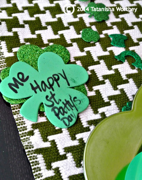 name card ideas for St. Patrick's Day