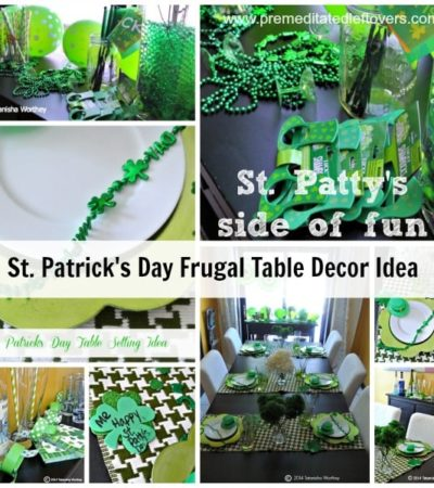 Frugal St Patrick's Day Table Decor Ideas