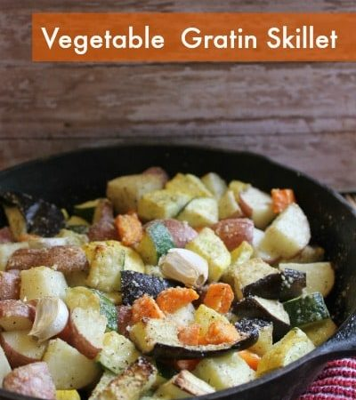 Vegetable Gratin Skillet